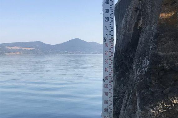 Continuano le operazioni per salvaguardare il lago di Bracciano