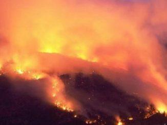 Incendio Majella: garantire invio urgente di altri canadair