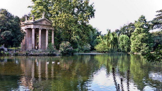 Parco di Villa Borghese, il polmone verde di Roma