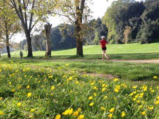 Parco di Villa Doria Pamphilj nel quartiere Monteverde-Gianicolense