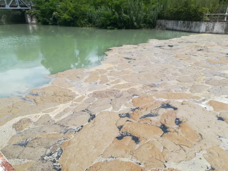 Sora, sversamento di liquami nel fiume Liri, sospeso il servizio irriguo