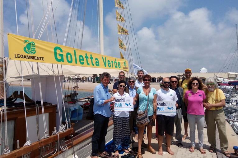Fishing for Litter, Legambiente a Ostia presenta le azioni per combattere il marine litter