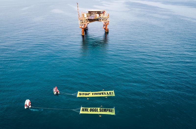 Greenpeace, trivelle: ecco cosa è successo e cosa chiediamo al Governo