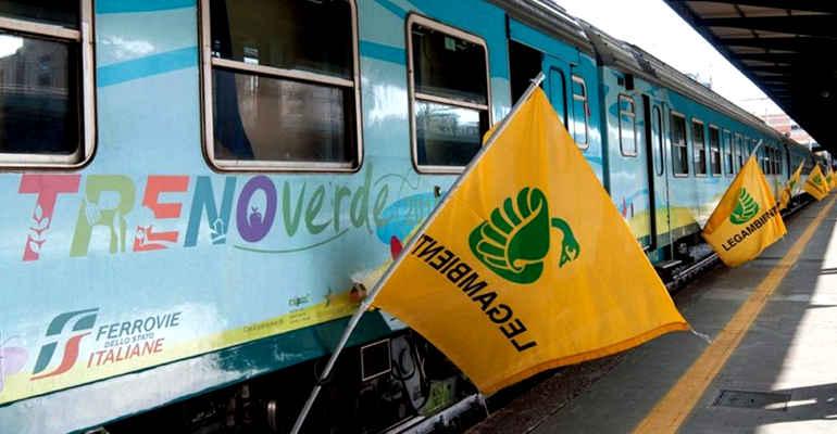 Lotta allo smog e ai mutamenti climatici: sali a bordo del Treno Verde