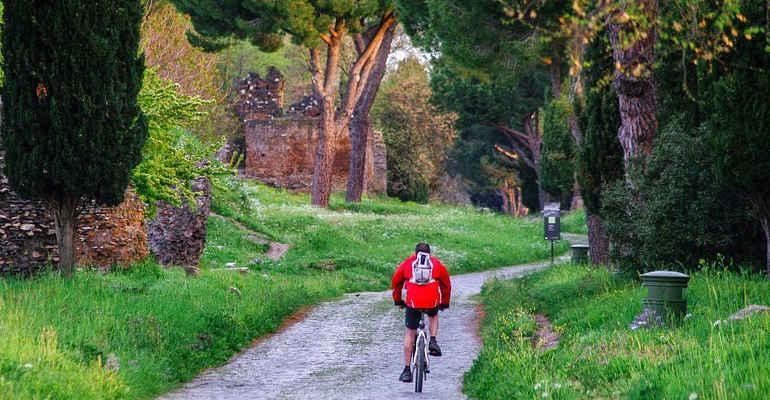 In bici per la città eterna